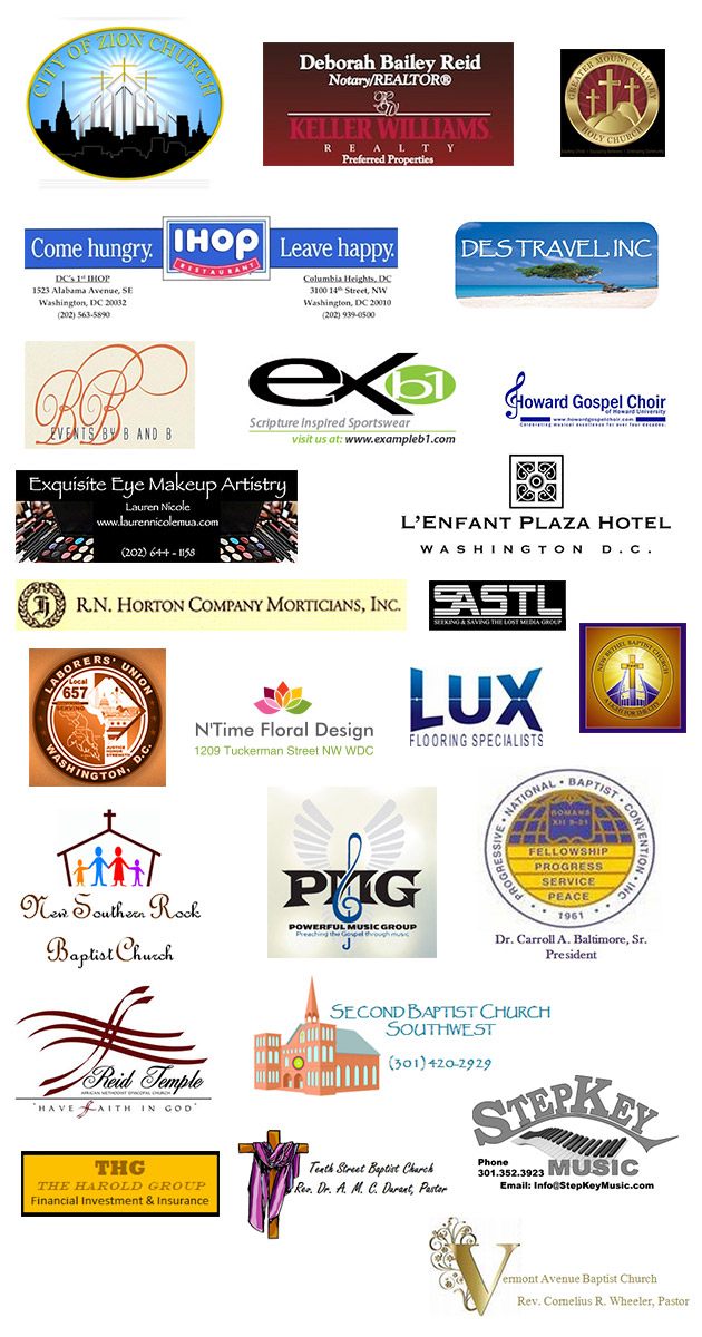 Gospel Music Heritage Month 2013 Sponsors