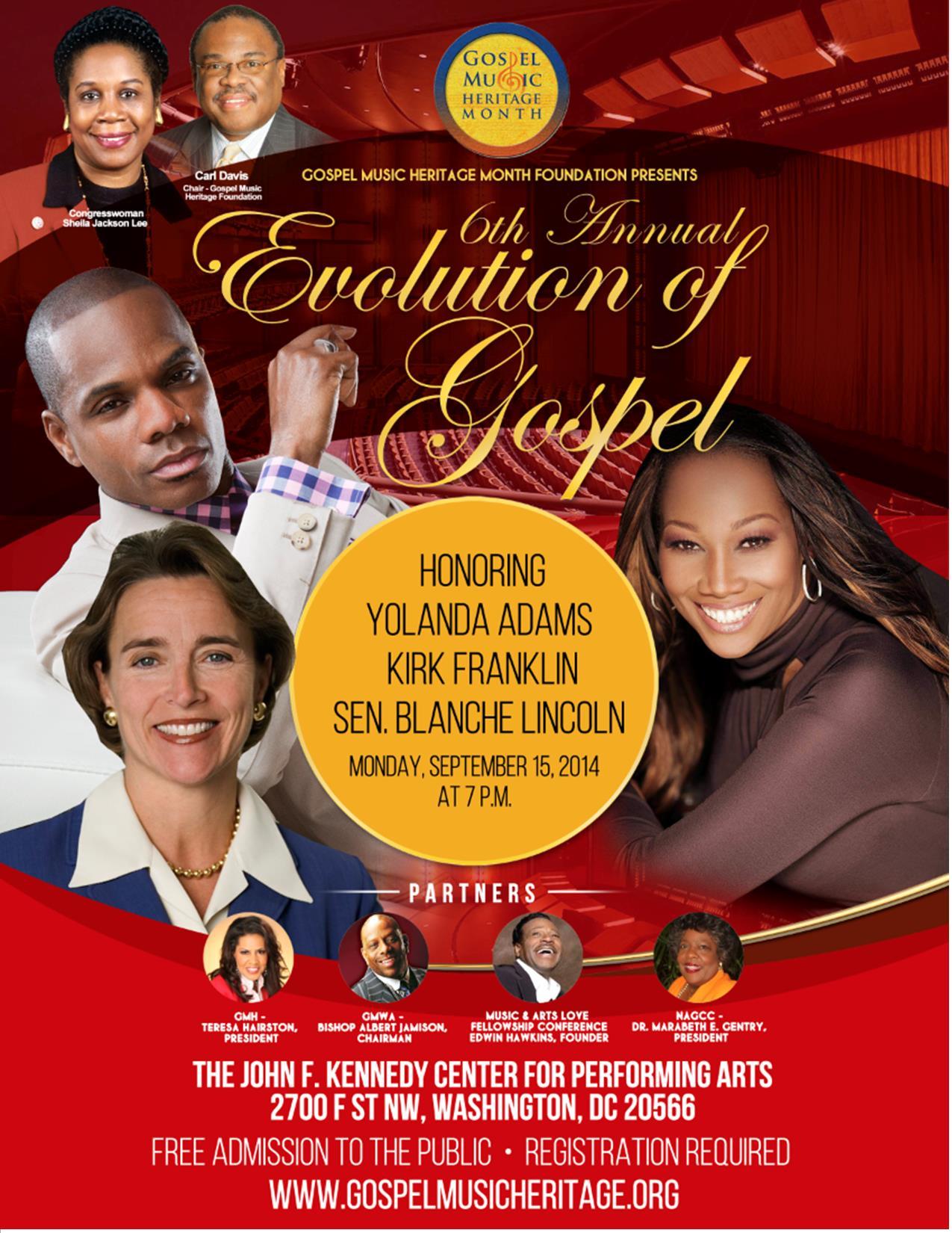 Gospel Music Heritage Month 2014